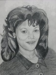 Belinda in pencil